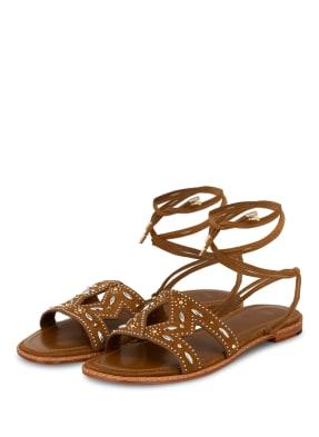maje Sandalen FIOULIGHT mit Nietenbesatz