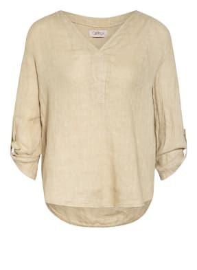 CARTOON Blusenshirt mit 3/4-Arm aus Leinen