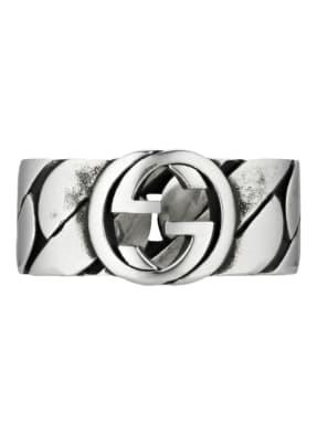 GUCCI Ring INTERLOCKING G