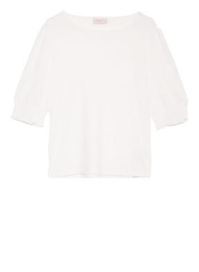 FREEQUENT T-Shirt FQBLONDIE mit Lochstickerei