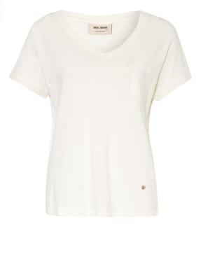 MOS MOSH T-Shirt MAYA mit Leinen