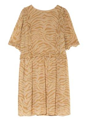 MOS MOSH Kleid MALISE mit 3/4-Arm und Rüschenbesatz