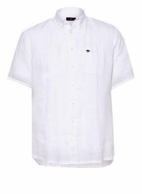 FYNCH-HATTON Kurzarm-Hemd Slim Fit aus Leinen