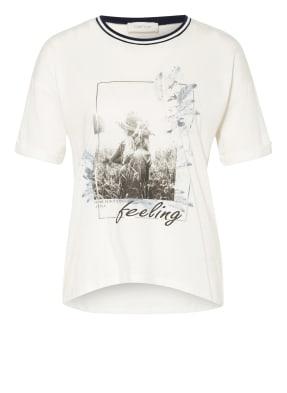 CARTOON T-Shirt mit Schmucksteinbesatz