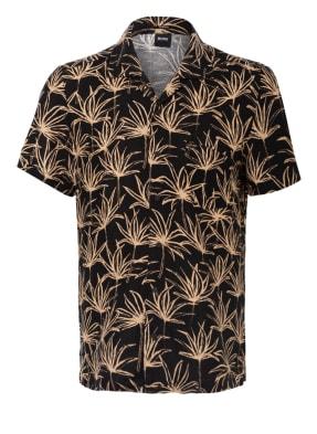 BOSS Resorthemd RHYTHM Slim Fit mit Leinen