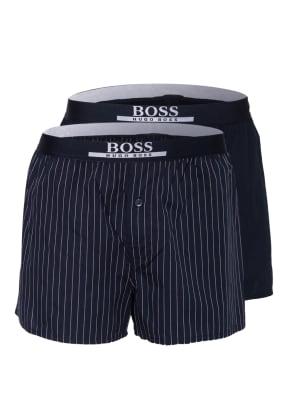 BOSS 2er-Pack Schlafshorts
