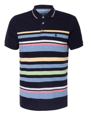 RAGMAN Piqué-Poloshirt Extra Slim Fit