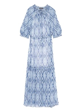 SET Kleid mit Rüschenbesatz