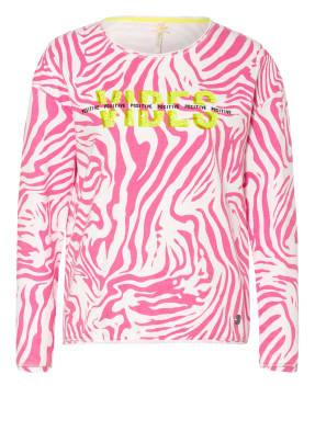 KEY LARGO Sweatshirt GROOVE mit Paillettenbesatz