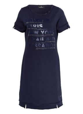 monari Kleid mit Schmucksteinbesatz
