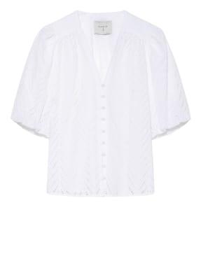 DANTE6 Bluse KENZLY mit Lochstickereien