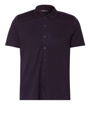 MAERZ MUENCHEN Kurzarm-Hemd Comfort Fit aus Piqué