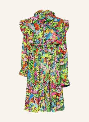 BALENCIAGA Kleid mit Volantbesatz