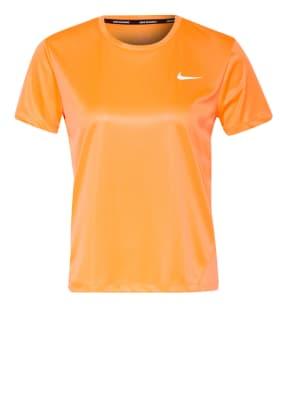 Nike Laufshirt MILER mit Mesh-Einsatz