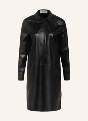 Calvin Klein Kleid in Lederoptik
