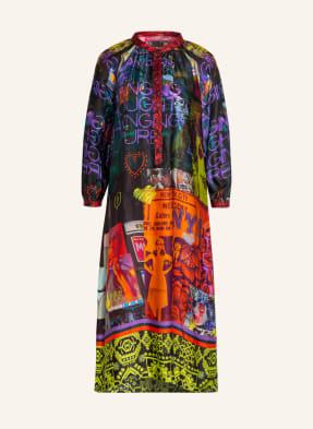 yippie hippie Kleid mit 3/4-Arm