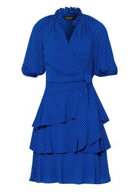 LAUREN RALPH LAUREN Kleid in Wickeloptik