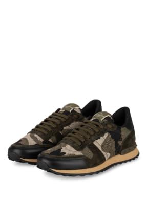 VALENTINO GARAVANI Sneaker ROCKRUNNER CAMOUFLAGE aus Mesh
