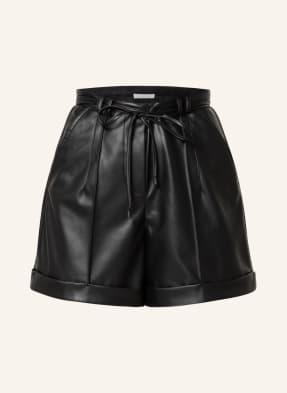 PATRIZIA PEPE Shorts in Lederoptik