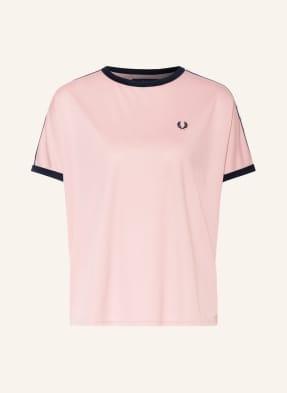 FRED PERRY T-Shirt mit Galonstreifen