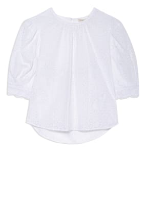 maje Blusenshirt aus Spitze mit Cut-out