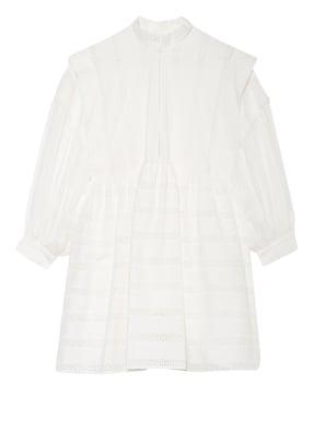 CLAUDIE PIERLOT Kleid RUSSE mit Lochspitze