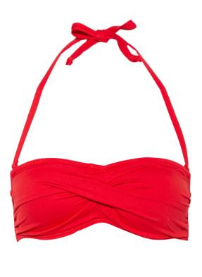 Hot Stuff Bandeau-Bikini-Top SOLIDS RED