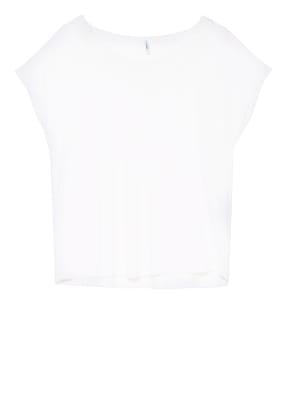 ONLY T-Shirt mit Spitzenbesatz