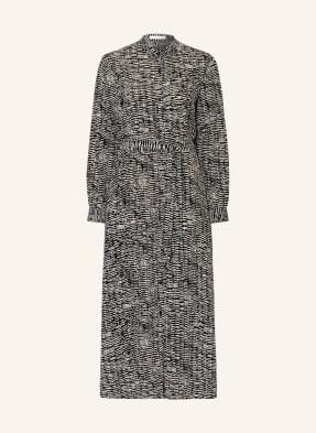 BOSS Kleid DELKAS mit Seide