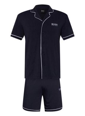 BOSS Shorty-Schlafanzug mit Geschenkbox