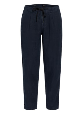 BOSS Leinen-Chino SYMON Relaxed Fit