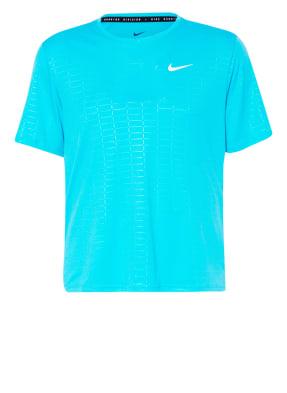 Nike Laufshirt RUN DEVISION MILER mit UV-Schutz 40+