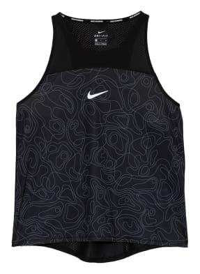 Nike Tanktop MILER RUN DIVISION mit Mesh-Einsatz