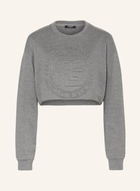 BALMAIN Cropped-Sweatshirt