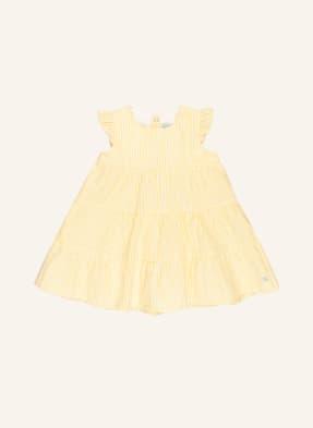 PETIT BATEAU Kleid mit Rüschenbesatz
