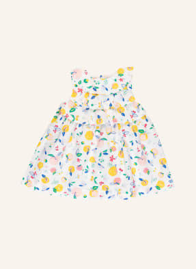 PETIT BATEAU Kleid mit Volantbesatz