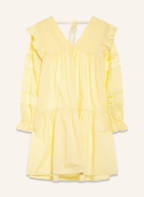 Mrs & HUGS Kleid mit Spitzenbesatz