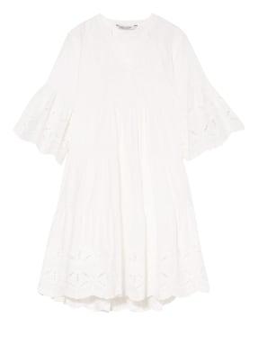 summum woman Kleid mit Lochspitze