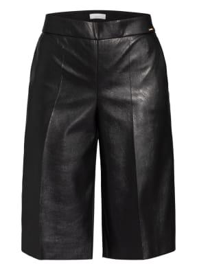 CINQUE Shorts CISITAS in Lederoptik