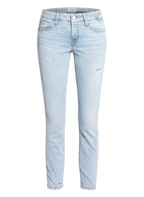 CAMBIO 7/8-Jeans LIU mit Schmucksteinbesatz