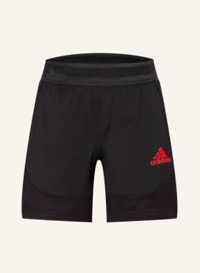 adidas Trainingsshorts HEAT.RDY mit Mesh-Einsätzen