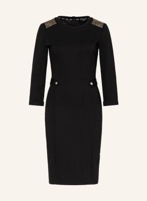 LIU JO Jerseykleid mit 3/4-Arm und Nietenbesatz