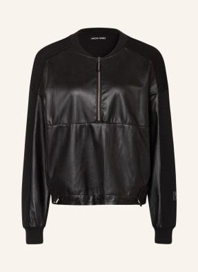MARC CAIN Sweatshirt im Materialmix