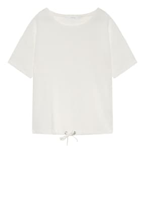 OPUS T-Shirt SELLY im Materialmix