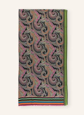 ETRO Cashmere-Schal mit Seide