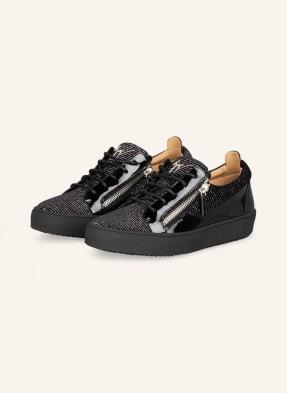 GIUSEPPE ZANOTTI DESIGN Plateau-Sneaker KENIN mit Glitzergarn