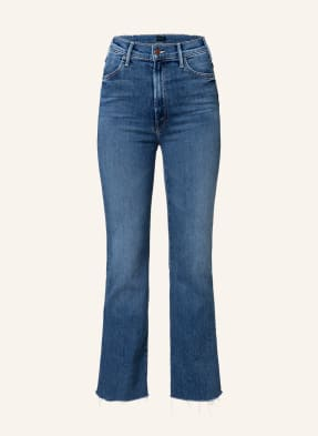 MOTHER Straight Jeans THE HUSTLER ANKLE FRAY