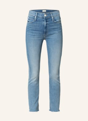 MOTHER Straight Jeans THE MID RISE DAZZLER COP FRAY