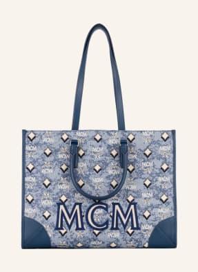 MCM Shopper VINTAGE JACQUARD mit Pouch