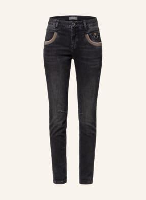 MOS MOSH Jeans NAOMIE mit Schmucksteinbesatz
